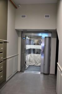 Création d'une gaine et installation d'un ascenseur